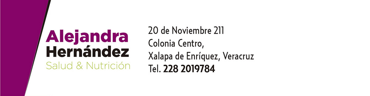 Punto de Venta Alejandra Hernández Salud & Nutrición