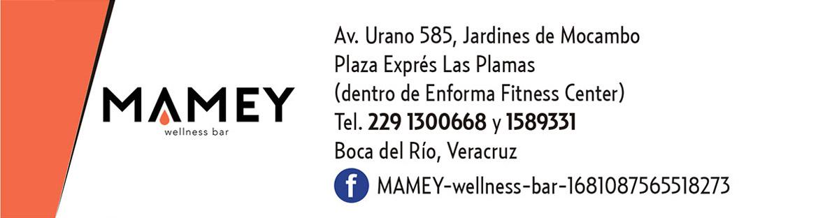 Punto de Venta MAMEY wellness bar
